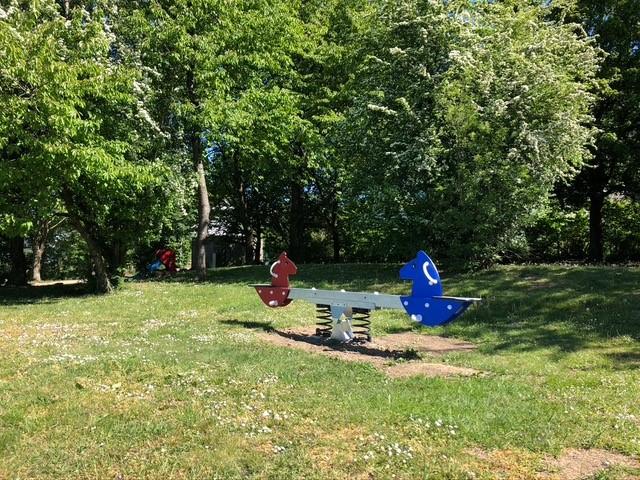 """Spielplatz """"Am Eckbusch"""". Foto: Kathrin Kohls"""